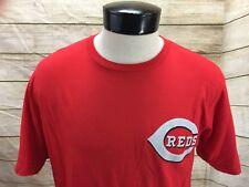 Majestic Mens Large Cincinnati Reds T-Shirt MLB Baseball Todd Frazier #21