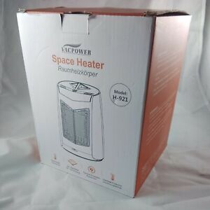 Vacpower Space Heater Model H-921 800W