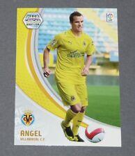 ANGEL ESPAÑA VILLAREAL ESPAGNE PANINI CARD MGK FOOTBALL LIGA 2007-2008