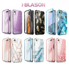 For iPhone XR 6.1 Case, i-Blason Cosmo Full-Body Cover with Screen Protector