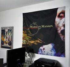 MARILYN MANSON Antichrist Superstar HUGE 4X4 BANNER fabric poster tapestry cd