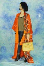 JAPANESE KIMONO STYLE   made in Japan  made of silk  HURISODE kawaii retoro