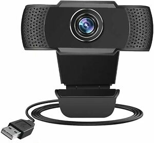 1080p Webcam With Microphone Full HD Video Camera USB For PC Desktop Laptop Mic