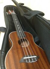 Leaf C100 Concert Ukulele,All-Mahogany,Natural Matt w/Free Padded Gig Bag,Picks