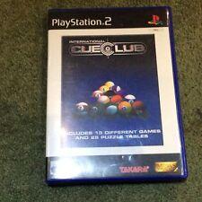 New listing PlayStation 2 Cue Club Game