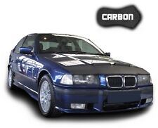 Haubenbra bmw 3 e36 carbon Hood bonnet bra desprendimiento protección car Tuning NUEVO