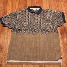 Vintage 90s Reebok Golf Polo Shirt XXL Hip Hop