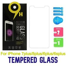 "For iPhone 6plus/6splus/7plus/8plus Size5.5"" LOT Tempered Glass Screen Protector"