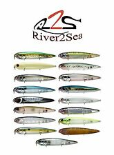 "River2Sea Pro Tuned Rover 128 5"" Hard Topwater Prop Bait Bass Fishing Lure"