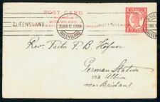 MayfairStamps Queensland 1912 to Briskbank Post Card wwi98323