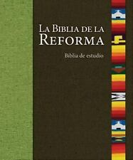 LA BIBLIA DE LA REFORMA - NEW HARDCOVER BOOK