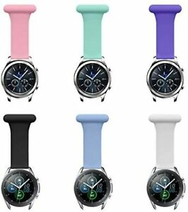 Fob for Samsung Smart Watch Silicone Band 20mm 22mm for Nurses Midwives Doctors