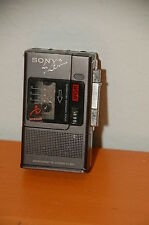 Sony M-88v Microcassette Recorder Made in Japan Parts or Repairs