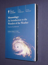 Teaching Co Great Courses DVDs  METEOROLOGY WONDERS of the WEATHER  new & sealed