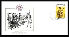 AMERICAN INDEPENDENCE BICENTENNIAL ,  LIMITED EDITION , GAMBIA COVER 1976