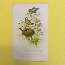 Happy Easter Postmark Torrington Connecticut Posted Postcard