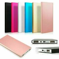 External 20000mAh Charger Power Bank Portable 2 USB Battery for Mobile Phone
