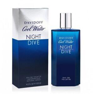 Davidoff Cool Water Night Dive 125ml EDT (M) SP Mens 100% Genuine (New)