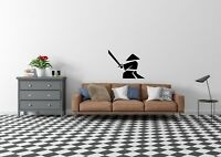 Warrior With Sword Inspired Design Wall Art Decal Vinyl Sticker