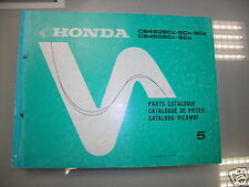 BB 13MC9C85 Catalogo Parti di Ricambio HONDA CB450 SC edizione 1985