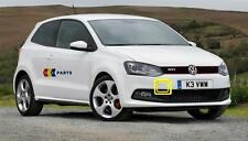VW POLO 09-13 NEW GENUINE FRONT GTI GT BUMPER TOW HOOK COVER CAP 6R0807241B
