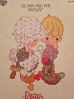 Precious Moments Sew In Love Gloria Pat Counted Cross Stitch 18 Patterns Booklet