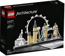 LEGO 21034 Londra Edificio Set Giocattolo architettura Kids Play KIT CON MINI FIGURE