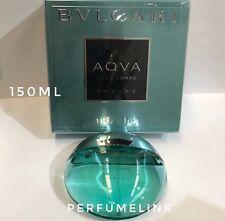 AQVA POUR HOMME MARINE 150ml EDT Spray Men's Perfume By BVLGARI