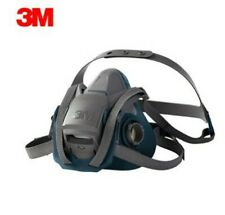 3M Medium Rugged Comfort Half Facepiece Respirator Quick Latch 6502QL