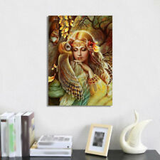 Girl And Owl 5D Diamond Painting DIY Embroidery Cross Stitch Kit Mosaic Decor