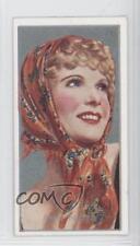 1936 Carreras Film Stars by Desmond Tobacco Base #6 Anna Neagle Card 0a3