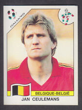Panini - Italia 90 World Cup - # 340 Jan Ceulemans - Belgique