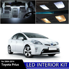 11PCS White Interior LED Light Package Kit For 2004 - 2014 Toyota Prius