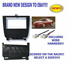 Lower Double Din Dash Kit for 95-98 Nissan 240SX S14 Multiple 52mm Gauge Options