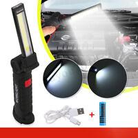 90000LM Rechargeable COB LED Slim Work Light Flashlight Inspect Folding  ❤