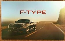 Nov 2014 2016 Jaguar F-Type R V8 S Supercharged AWD Coupe Convertible Brochure
