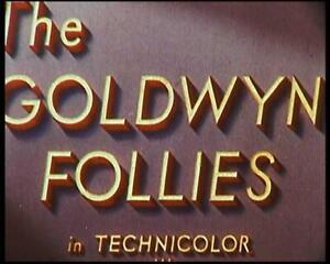 'The Goldwyn Follies' 16mm Feature Film All Star Cast.
