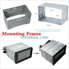 Metal Car Radio DVD Stereo Fascia Panel Mounting Frame 2DIN Radio Installation