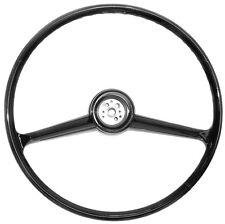 vintage steering wheels horns for gmc truck ebay 1956 Chevy Street Rods 1960 1961 1962 1963 1964 1965 1966 chevrolet gmc truck black steering wheel
