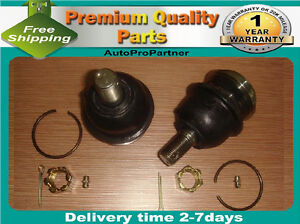 2 FRONT LOWER BALL JOINT FOR NISSAN D21 2WD 86-94 PIICK UP 2WD 95-97