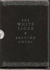 THE WHITE TIGER ltd Ed 1st edition SIGNED ARAVIND ADIGA