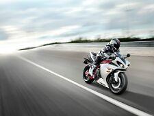 NEW LARGE YAMAHA R1 MOTORBIKE SUPERBIKE ROADBIKE RACING PHOTO ART PRINT POSTER