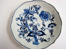 """Vintage Blue Danube Onion Ribbon Japan Saucer Plate 5"""" Replacement Piece White"""