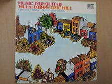 Lp Música Para Guitarra Villa Lobos, Eric Hill saga 5453