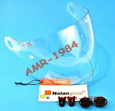 VISOR ORIGINAL NOLAN N43 CLEAR + SET SCREWS VISOR N43E AIR N43E 0170-0110