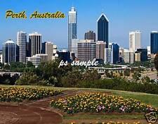 Australia - PERTH - travel souvenir flexible fridge magnet