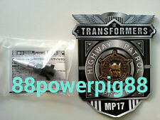 Takara Transformers Masterpiece MP-17 Exclusive Coin & Shoulder Cannon US Seller