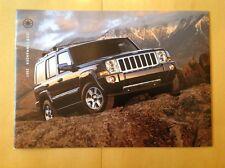 2007 Jeep Commander Limited Quadra 5.7L HEMI V8 4.7L SUV Catalog Brochure Book