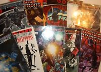 The Transformers IDW Comic Books Spotlight Regeneration One [YOUR CHOICE / PICK]