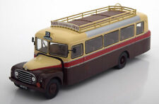 1:43 Altaya Bus Collection Citroen 46 DP UAD France brown/creme/red